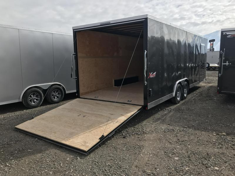 2019 Mirage Trailers Xcel 8.5W Tandem Axle Cargo Trailers Enclosed Cargo Trailer