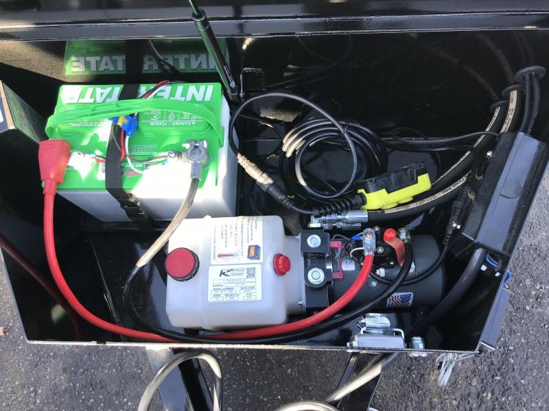 PJ 6x20 Powered Full Tilt (TF) Equipment Trailer