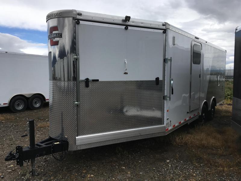 2019 28' Charmac Trisport Snowmobile Trailer
