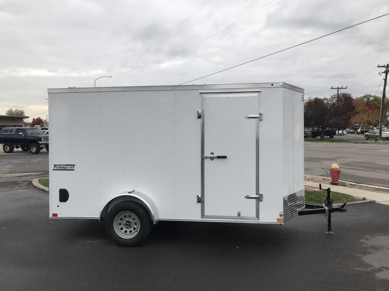 2018 Haulmark 6x12 Passport w Ramp Enclosed Cargo Trailer