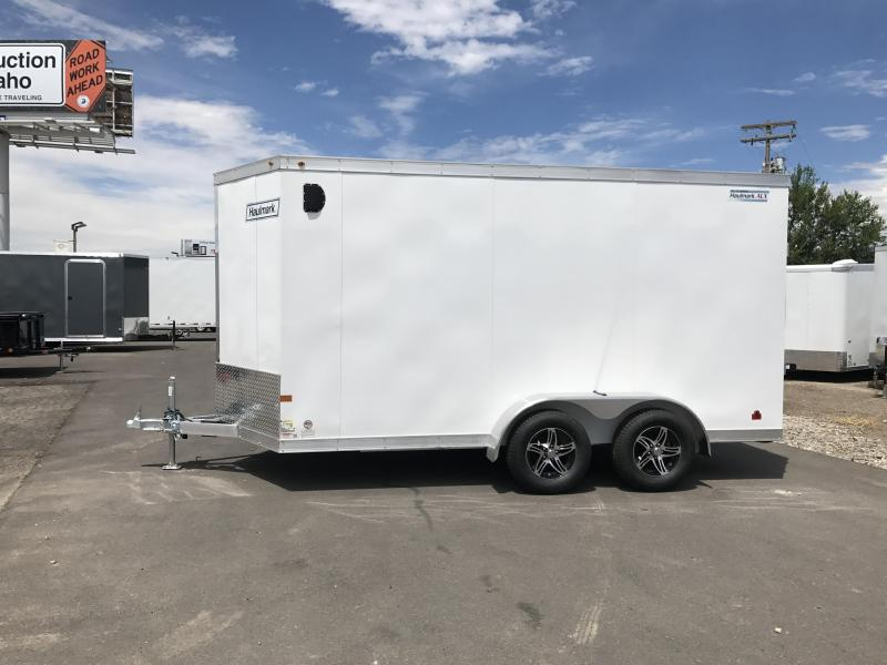 In The Shop At Wasatch Truck Equipment 2017 Haulmark 7X14 Aluminum Enclosed Cargo Trailer ...