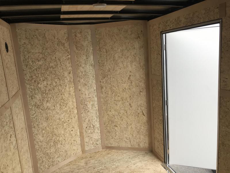 Haulmark 6x10 Pewter Passport with Barn Doors Cargo Trailer
