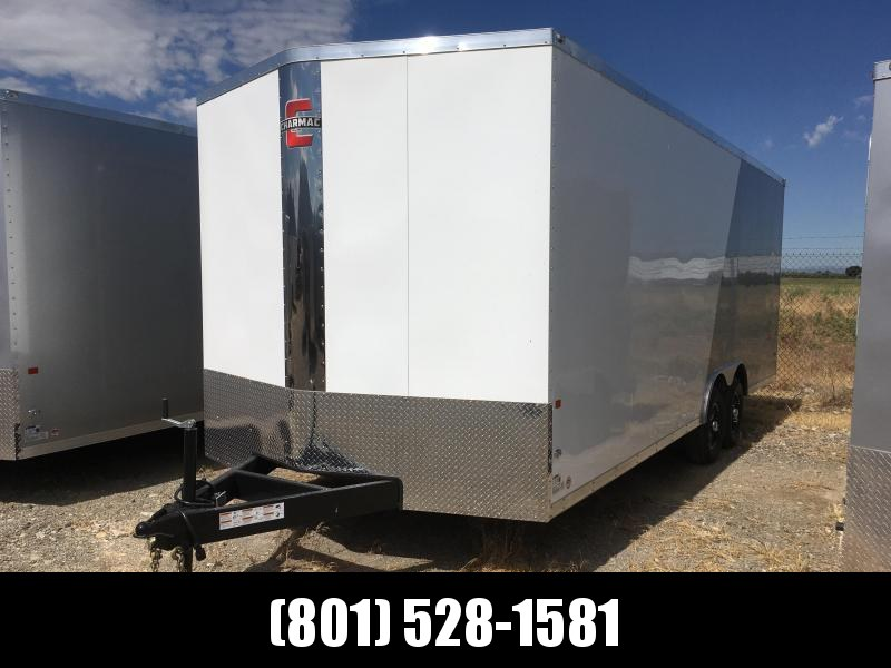 100x22 White & Silver Charmac Stealth Cargo Trailer with Diamond Package in Ashburn, VA
