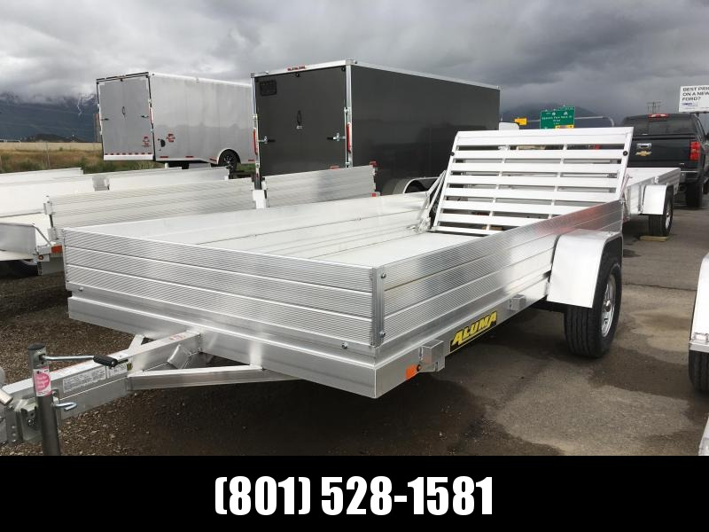 """Aluma 6812H Utility Trailer with 12"""" Solid Sides"""