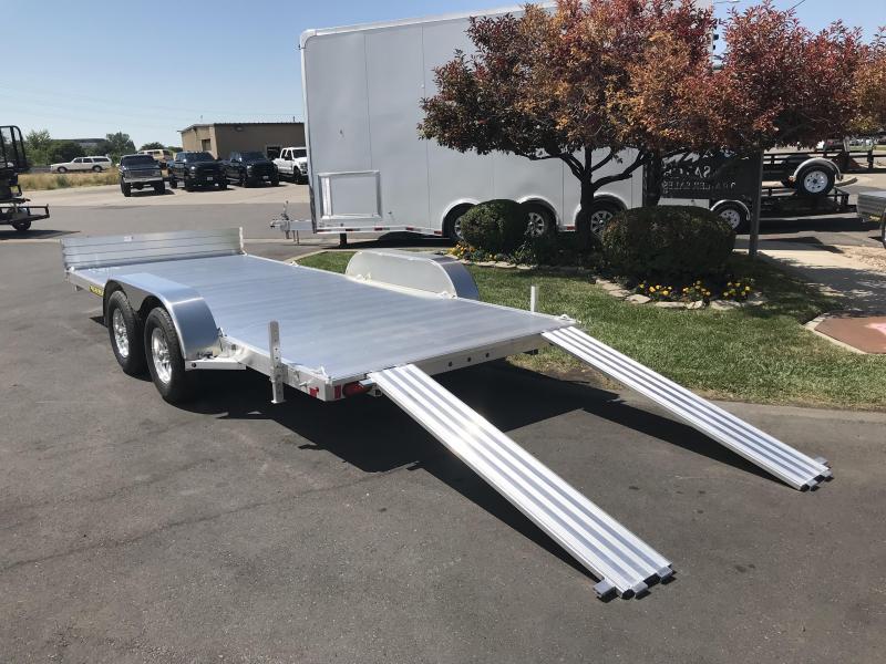 2019 Aluma 81x16 Tandem Axle (8116TA) Utility Trailer