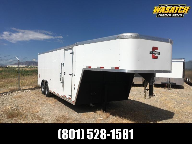 Charmac 100x22 Enclosed Gooseneck Cargo