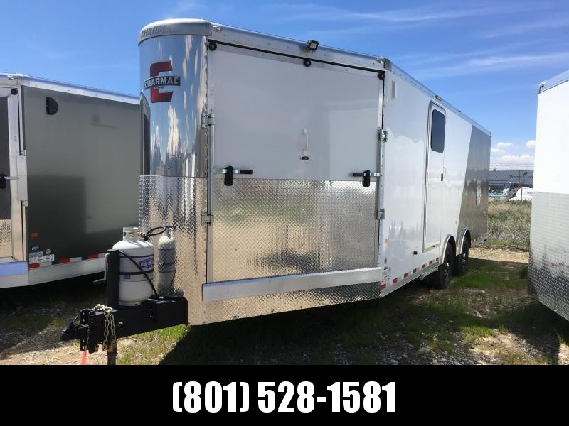 2019 Charmac Trailers Tri Sport Snowmobile Trailer