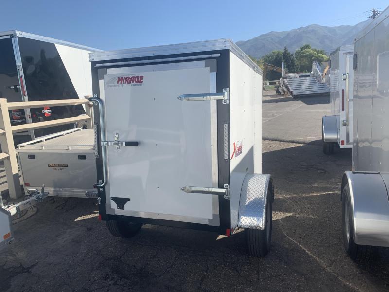 2020 Mirage Trailers 4x6 Xpres Enclosed Cargo Trailer