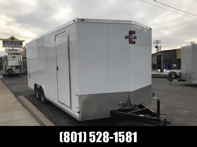 Charmac 100x20 White Stealth Cargo Trailer with Ramp in Ashburn, VA