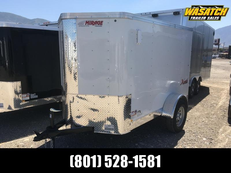 Mirage 5x8 Xpres Enclosed Steel Cargo Trailer w/ V- nose