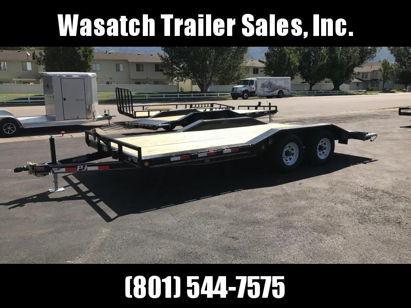 2018 PJ Trailers 18 Buggy Hauler Equipment Trailer