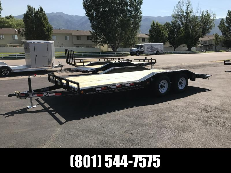 2018 PJ Trailers 18 Buggy Hauler Equipment Trailer in UT