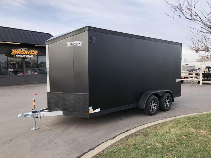 2018 Haulmark 7X16 Aluminum Enclosed Cargo Trailer