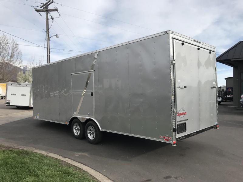 2018 Cargo Mate 29 Snowmobile Trailer