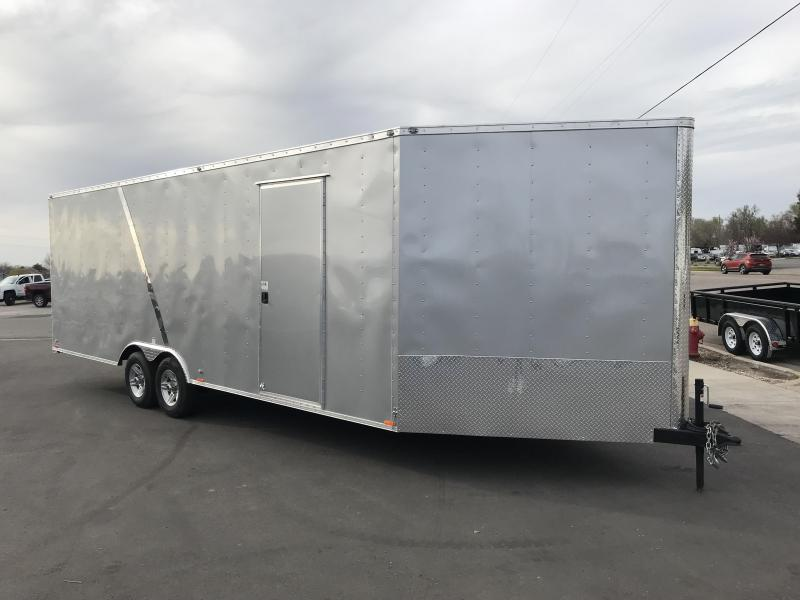 2018 Cargo Mate 29 Snowmobile Trailer