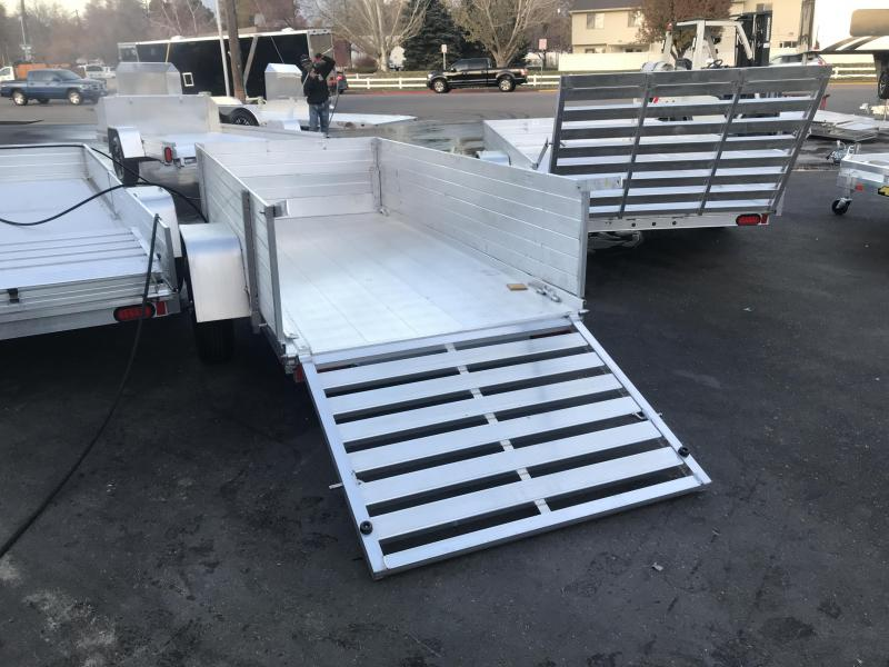 2018 Aluma 5410 2ft Solid Sides Utility Trailer