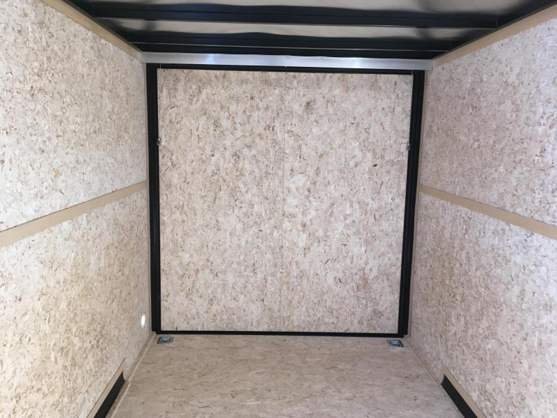 2019 Charmac Trailers 7x16 Stealth Enclosed Cargo Trailer with 5200lb Axles and Stabilizer Jacks