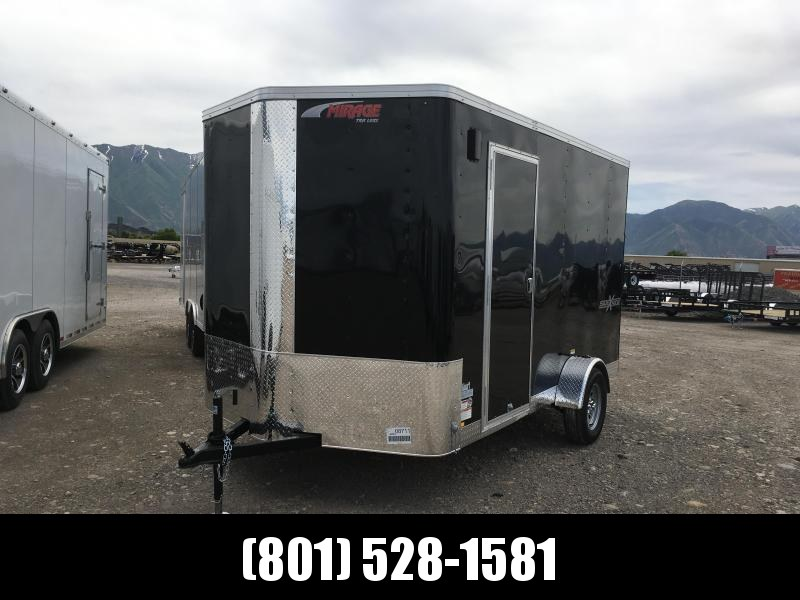 7x12 Mirage Xpres Cargo Trailer with Side by Side Package