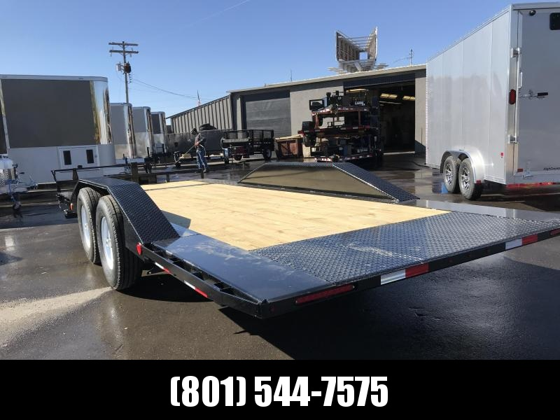 2019 PJ Trailers 20ft - 6 in Channel Super-Wide Tilt (TS) Flatbed Trailer in UT