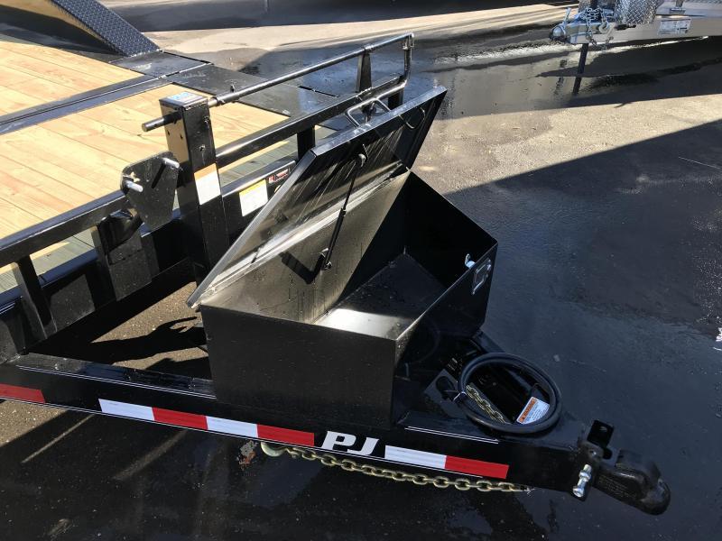 2019 PJ Trailers 20ft - 6 in Channel Super-Wide Tilt (TS) Flatbed Trailer