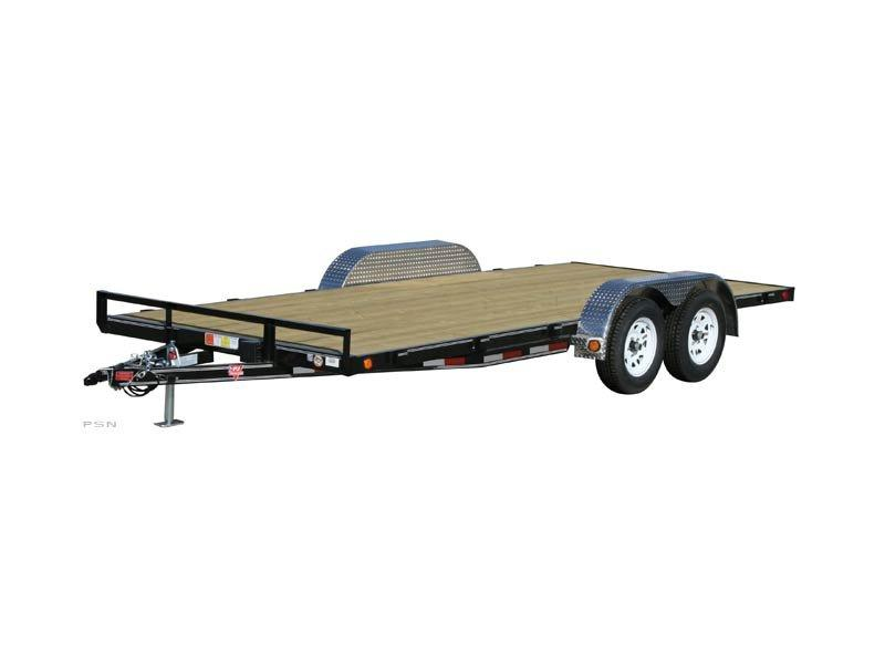 2019 PJ Trailers 18ft - 4 in. Channel Carhauler (C4) Car / Racing Trailer