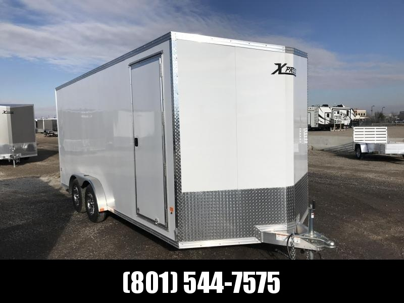 High Country 7.5x16 White Xpress Cargo with Ramp