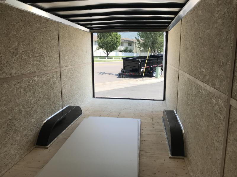 2018 Charmac Trailers 22ft Commercial Duty Enclosed Cargo Trailer