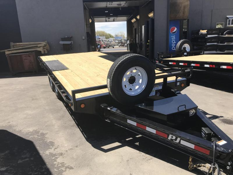 2019 PJ Trailers 16 Deck Over Flatbed Trailer in Hooper Bay, AK