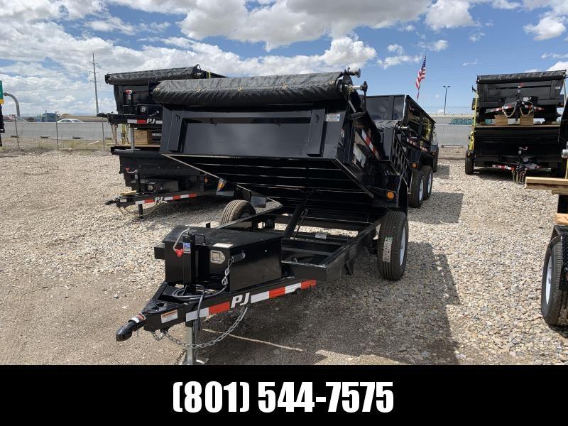 PJ 5x10 Utility Dump (D5) Dump Trailer