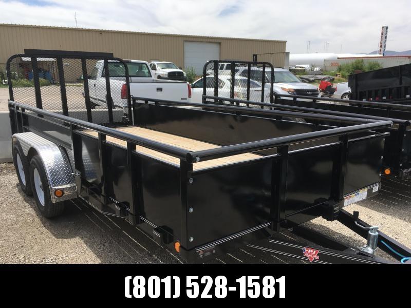 83x16 PJ High Side (UL) Utility Trailer