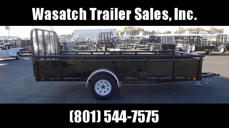 2019 PJ Trailers 12ft - 83 in. Channel Utility (U8) Utility Trailer