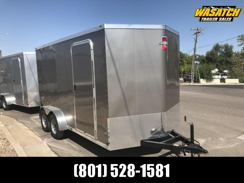 Charmac 7x14 Stealth Enclosed Steel Cargo w/ V-nose