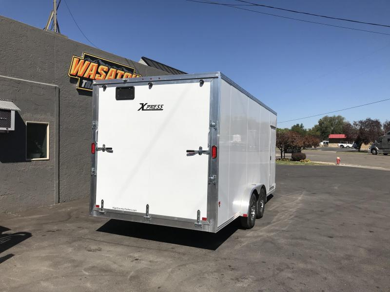 2018 High Country 7.5x18ft Xpress Enclosed Cargo Trailer