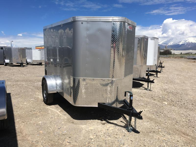 5x8 Silver Mirage Trailers Xpres Cargo Trailer