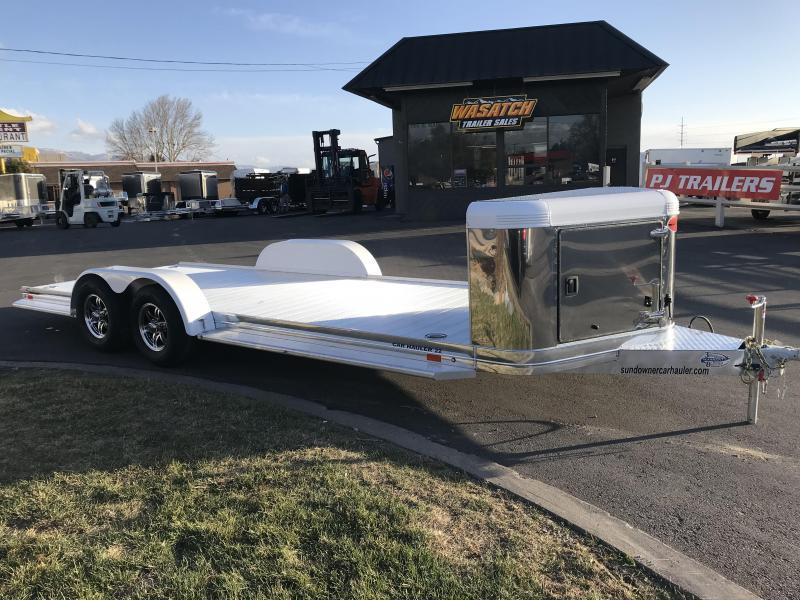 2018 Sundowner Trailers 22 Ultra Series Aluminum Car Hauler ...