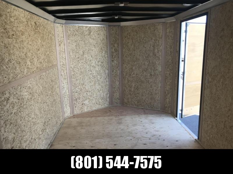Charmac 100x16 White Commercial Duty Cargo with Ramp