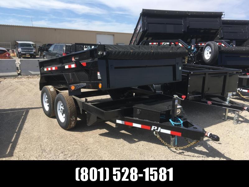 2020 PJ Trailers 72x10 Tandem Axle Dump (D3) Trailer
