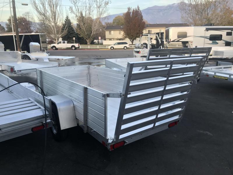 2018 Aluma 5410 2ft Solid Sides Utility Trailer