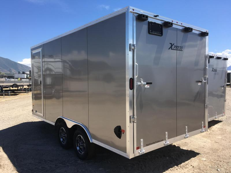 High Country 8x26 Xpress Enclosed Aluminum Cargo w/ V-nose