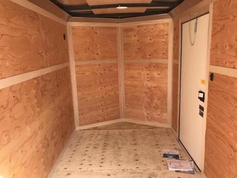 2019 Cargo Mate 6 x 10 Enclosed Cargo Trailer