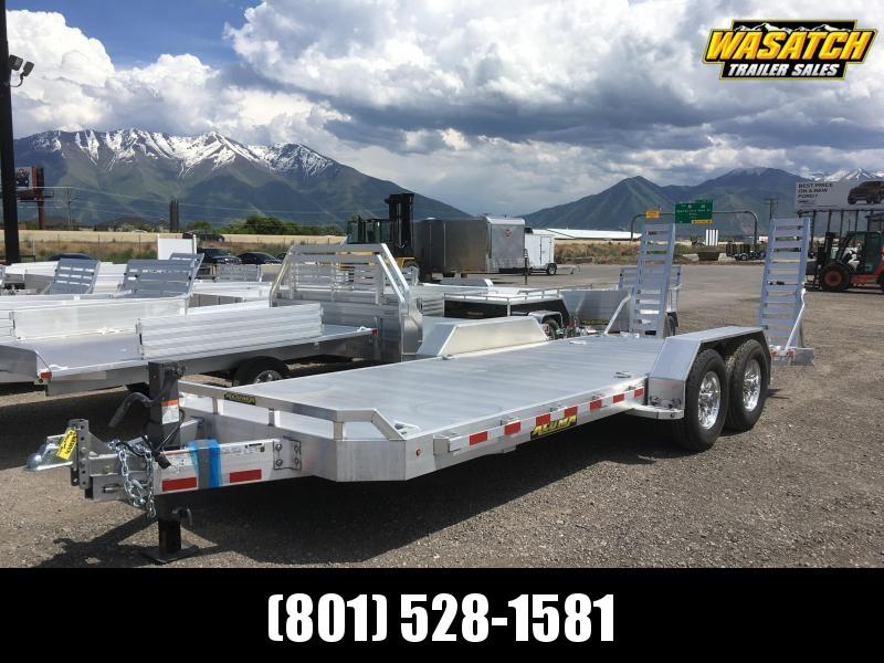 Aluma 8220-14K Super Heavy Tandem Utility Trailer