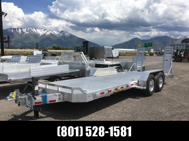 Aluma 8220-TR-14K Utility Trailer with 7000# Torsion Axles