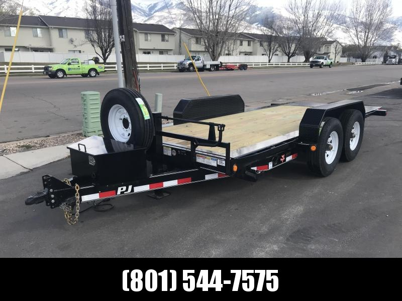 2018 PJ Trailers 16 Tilt Equipment Trailer in UT
