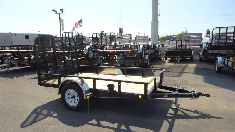 In The Shop At Wasatch Truck Equipment 2018 PJ Trailers 72X10 ATV Trailer | Wasatch Trailer Sales ...