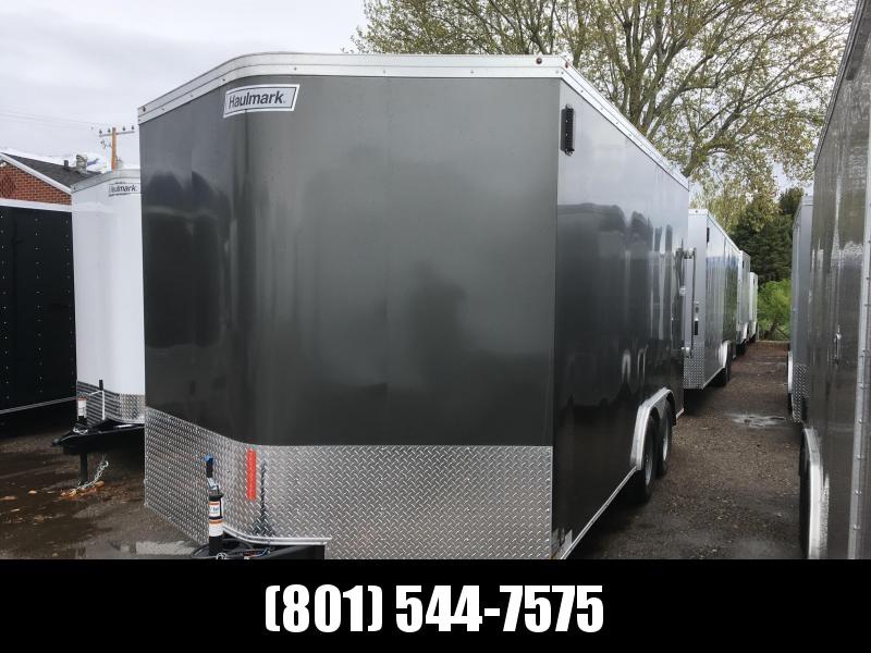 2018 Haulmark 8.5x16 Transport Enclosed Cargo Trailer