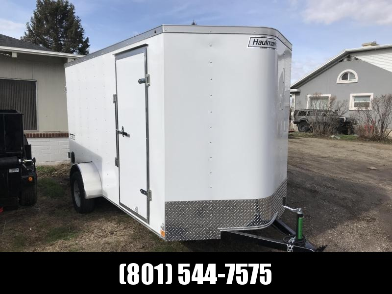 Haulmark White 6x12 Passport with Barn Doors Enclosed Cargo Trailer in UT