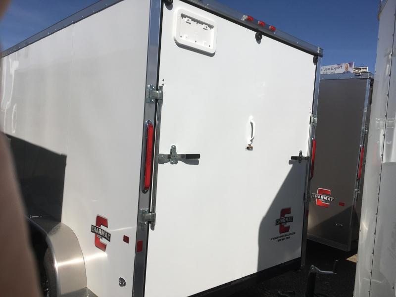 2019 Charmac Trailers 7x14 Stealth Cargo Trailer w/ 5200lb Axles