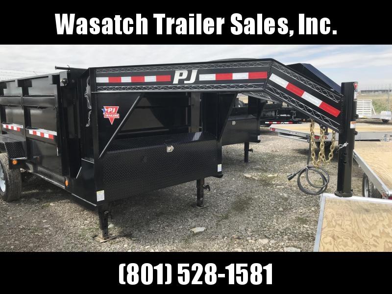 2019 PJ Trailers 14ft Low Pro High Side Dump (DM) Dump Trailer
