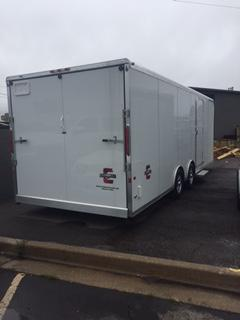 In The Shop At Wasatch Truck Equipment 2017 Charmac Trailers 24 Legend Car Hauler | Wasatch ...