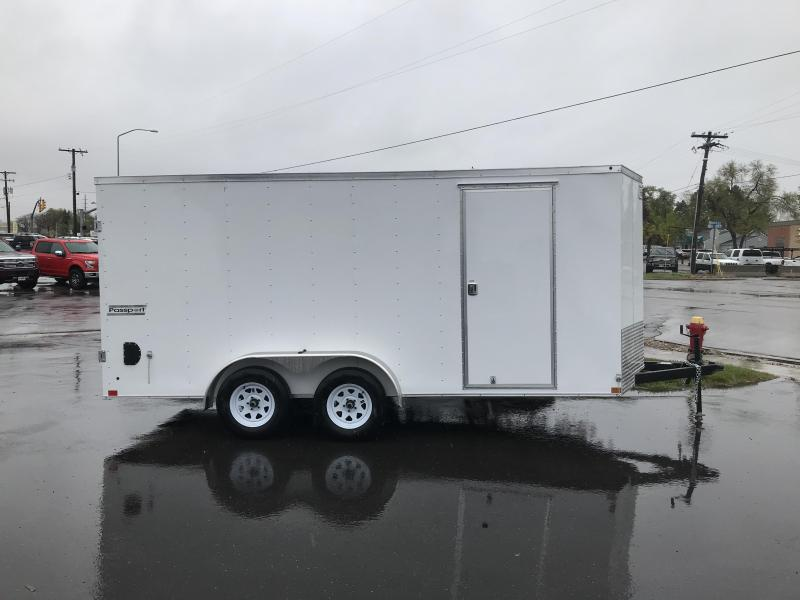2018 Haulmark 7 x 16 Enclosed Cargo Trailer